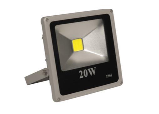 Spot Lamp DC Fixture w/ 20W LED Lamp