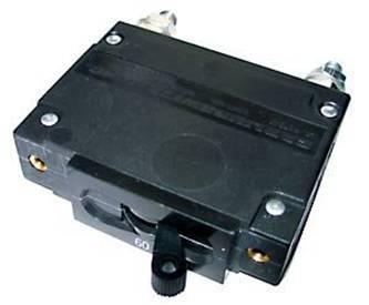 48DC & 125DC 60Amp Panel Mounted Circuit Breaker