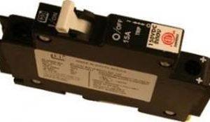 48DC & 125DC 15Amp DIN Rail Mounted Circuit Breaker